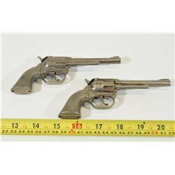 2 PET Diecast Toy Cap Gun