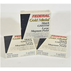 208 Federal Gold Medal Large Pistol Primers