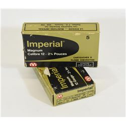 10 Rounds CIL Imperial 12ga 00Buck