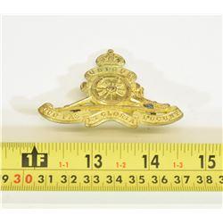 Royal Regiment of Canadian Artillery Cap Badge