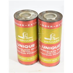 2 lbs of Unique Smokeless Powder