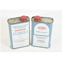 2 lbs of Dupont IMR-4227 Smokeless Powder