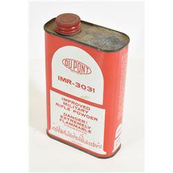 1 lb of Dupont IMR-3031 Smokeless Powder