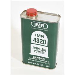 1 lb of Dupont IMR-4320 Smokeless Powder