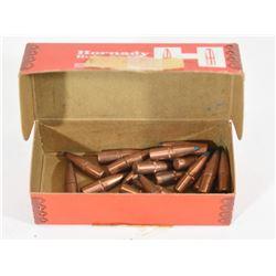25 Pieces Hornady 30cal Bullets