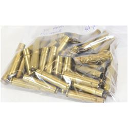 61 Pieces of 35 Remington Primed Brass