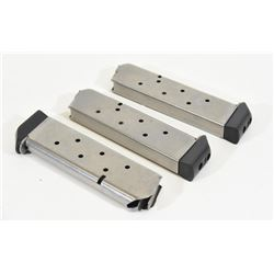 3 Shooting Star Stainless Steel 45cal Magazines