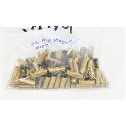 100 Pieces 32 H&R Mag Brass