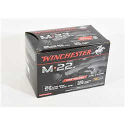 1000 Rounds Winchester M22 22LR