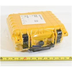 Yellow Weatherproof Box New in Wrapper