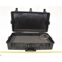 Black Weatherproof Equipment Case