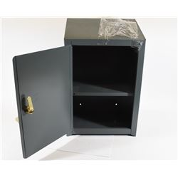 Grey Lockable Wall Cabinet