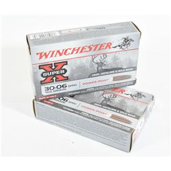 46 Rounds Winchester 30-06 165gr PP