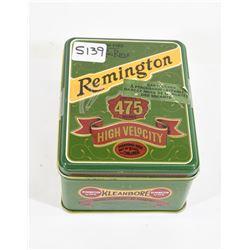 Remington UMC Limited Edition 22LR Ammo and Tin