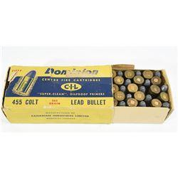 CIL Dominion 455Colt Ammunition