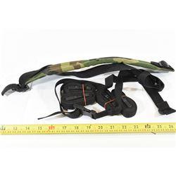 """39"""" Nylon Rifle Sling with 5 Nylon Straps"""