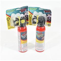 2 Cans Bear Spray