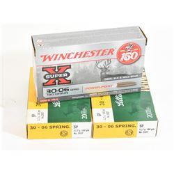 30-06 Ammo and Brass