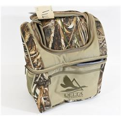 Delta Waterfowl Soft Sided Camo Insulated Cooler