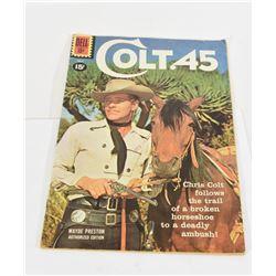 1961 Colt 45 Comic Book