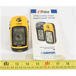 Garmin Etrex GPS/Compass