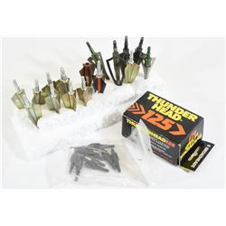 Box Lot Archery Broadheads