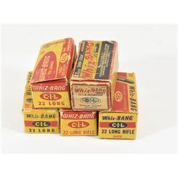 Vintage 22 Cal. Whiz-Bang Ammunition