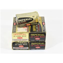 250 Rnds. Imperial 22 Cal. Ammo