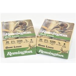 "50 Rounds Remington 20ga 2 3/4"" #6"
