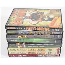 8 Hunting DVD's