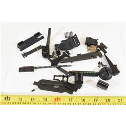 Assorted Bag of Sights, Parts and Tools