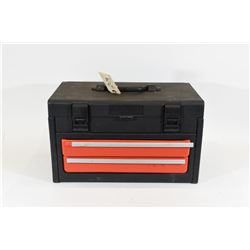 Plastic Tool Box with Assorted Hand Tools