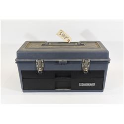 Plastic Tool Box with Assorted Files/Grinding Tools