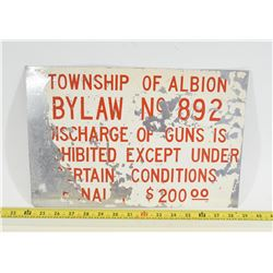 By-Law Sign