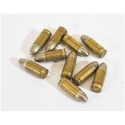 10 Rounds 1934 Polte-Werke 2 Star 9mm Ammo