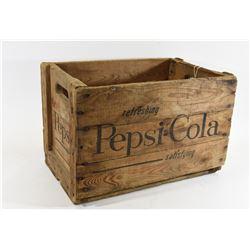 Antique Pepsi Wooden Crate