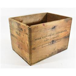 Polar Ammonia Dynamite Wooden Crate