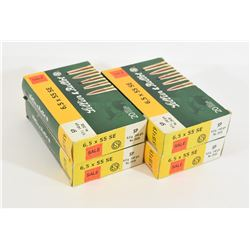 70 Rounds Sellier & Bellot 6.5x66 Sewdish 140gr SP