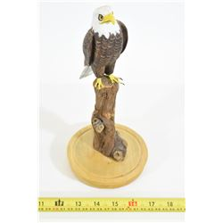 Hand Carved Bald Eagle