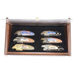 Set of 12 Harley-Davidson Franklin Mint Collector