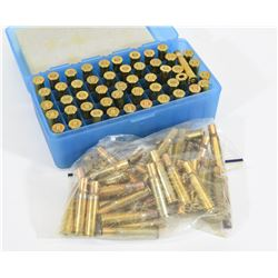 90 Pieces of 30-30 Brass