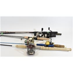 Box Lot Fishing Rods