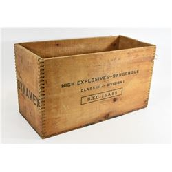 CIL Dynamex Explosives Box