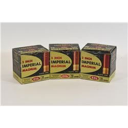 "75 Rounds Imperial 20ga x 3"" Lead #4 Shot"