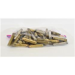 45 Pieces of 338 Win Mag Empty Brass