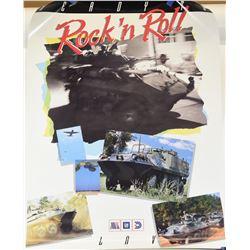 Rare Original GM Law 4-Wheel Tank Poster