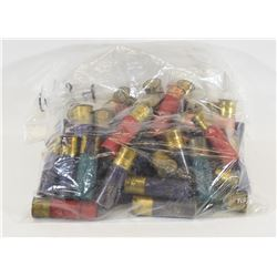 Assorted Paper and Plastic Shot Shells