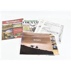Box Lot Remington Catalogues & Manuals