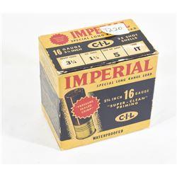 CIL Imperial 16ga Shot Shells