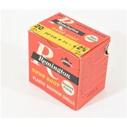 Assorted Ammo in Remington Shur Shot Box